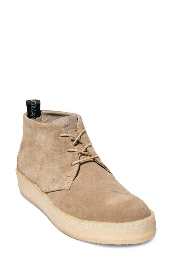 Men's Allsaints Kit Chukka Sneaker, Size 7 M - Beige