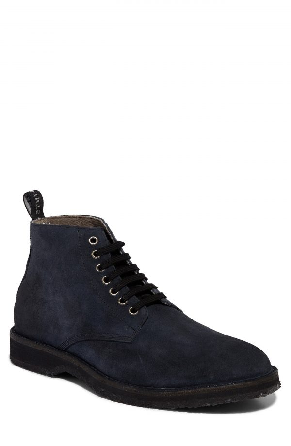Men's Allsaints Mathis Plain Toe Boot, Size 11 M - Blue