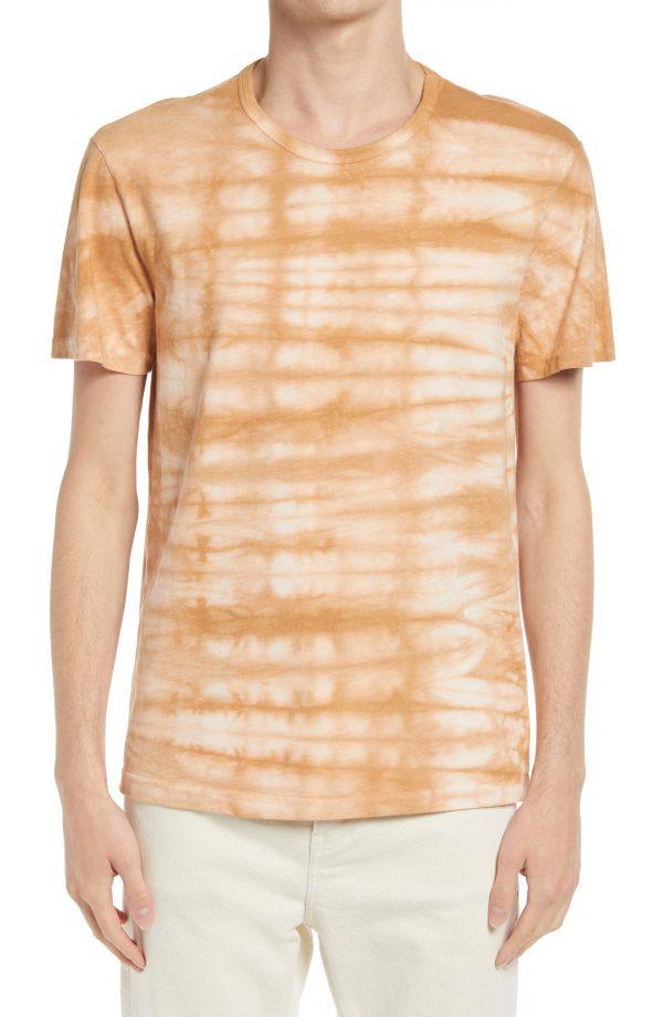 Men's Allsaints Men's Cali Tie Dye T-Shirt, Size Small - Brown