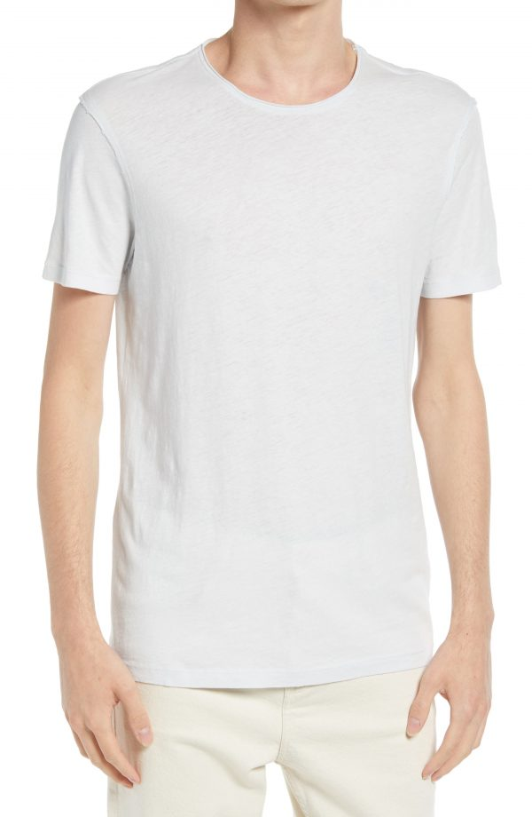 Men's Allsaints Men's Figure Crewneck T-Shirt, Size Small - Blue