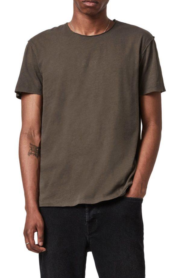 Men's Allsaints Men's Figure Crewneck T-Shirt, Size Small - Grey