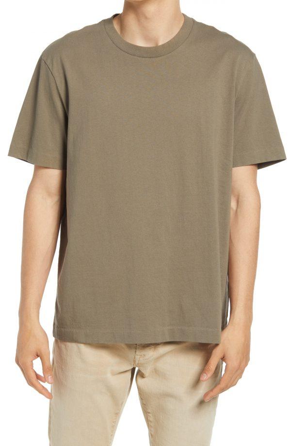 Men's Allsaints Men's Musica Crewneck T-Shirt, Size X-Large - Beige