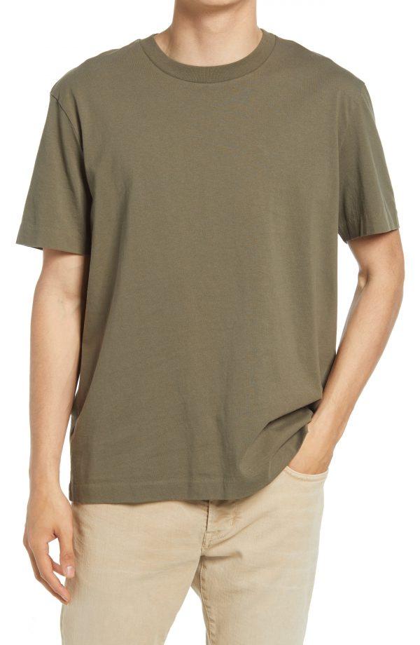 Men's Allsaints Men's Musica Crewneck T-Shirt, Size X-Large - Green