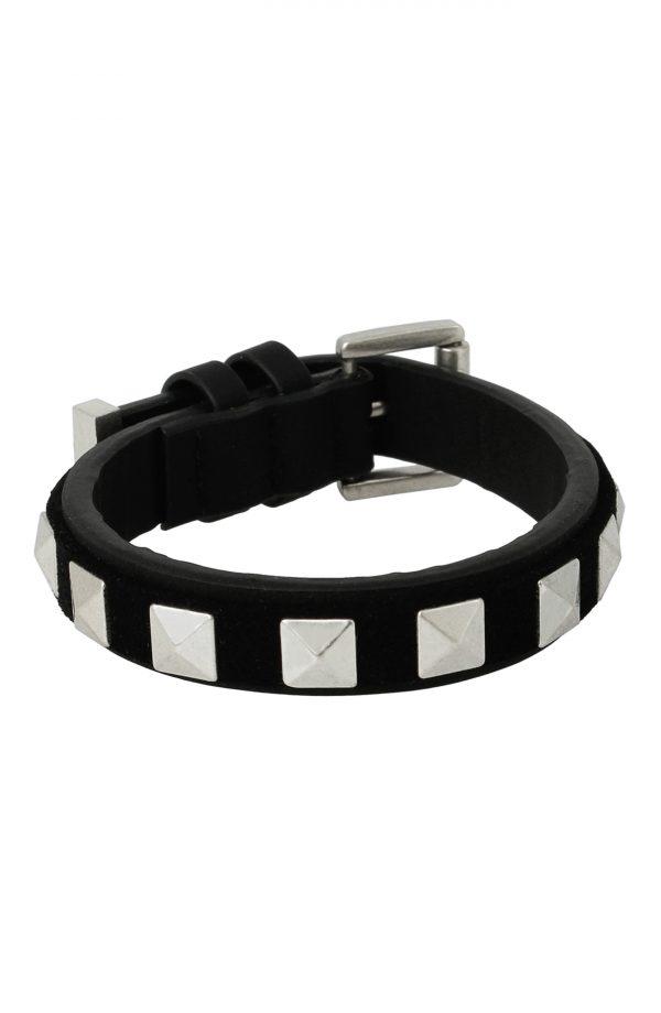 Men's Allsaints Men's Studded Leather Bracelet