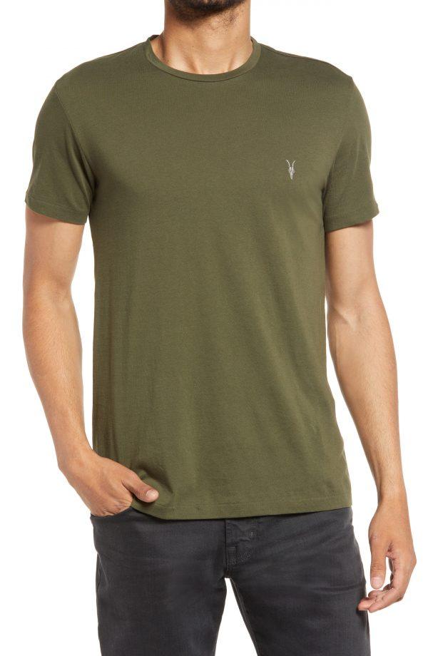 Men's Allsaints Men's Tonic Cotton T-Shirt, Size Large - Green