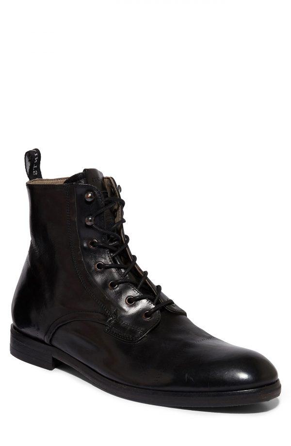 Men's Allsaints Mikkel Plain Toe Boot, Size 9 M - Black