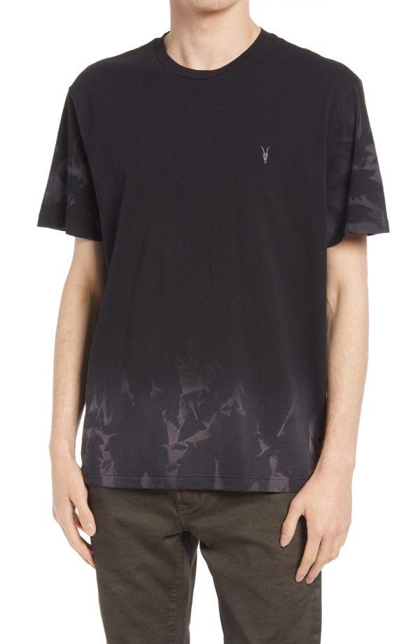 Men's Allsaints Reznor T-Shirt, Size Large - Black