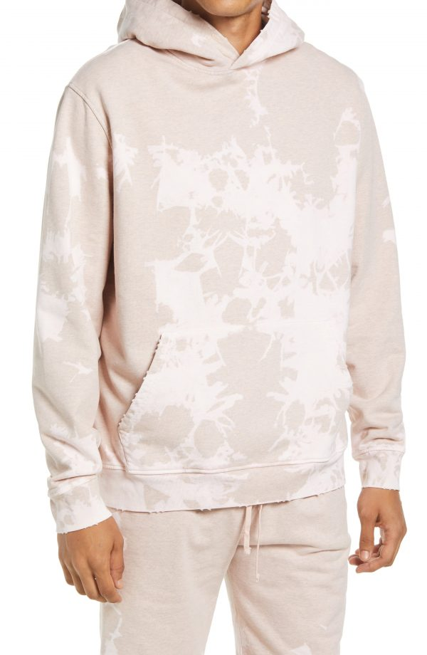 Men's Allsaints Sable Hoodie, Size X-Small - Pink