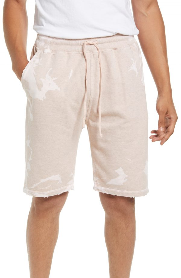 Men's Allsaints Sable Sweat Shorts, Size Medium - Pink