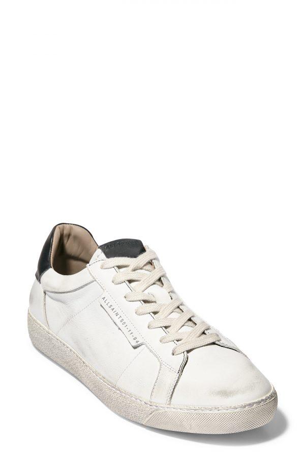Men's Allsaints Sheer Sneaker, Size 7 M - White