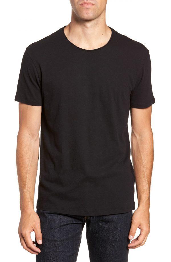 Men's Allsaints Slim Fit Crewneck T-Shirt, Size Small - Black