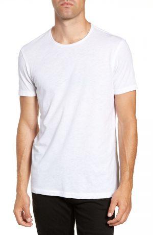 Men's Allsaints Slim Fit Crewneck T-Shirt, Size Small - White