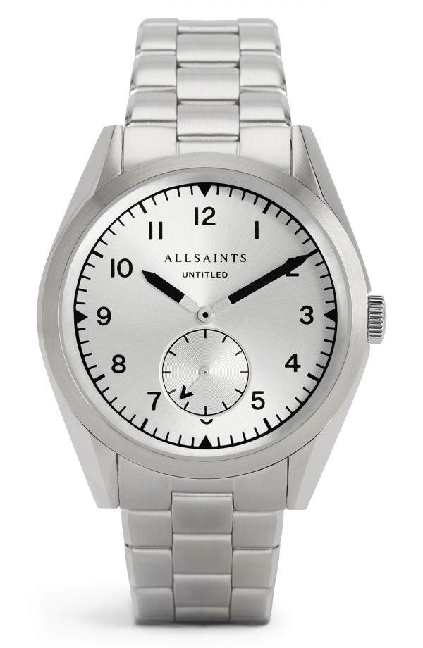 Men's Allsaints Untitled Vi Bracelet Watch, 40mm