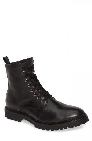 Men's Allsaints Whitmore Moto Boot, Size 7 M - Black