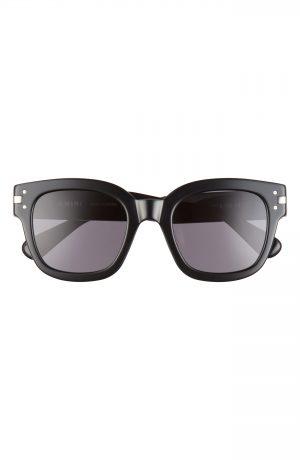 Men's Amiri Classic Logo Square Sunglasses - Black