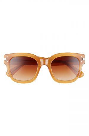 Men's Amiri Classic Logo Square Sunglasses - Tobacco