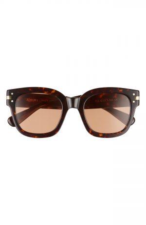 Men's Amiri Classic Logo Square Sunglasses - Tortoise