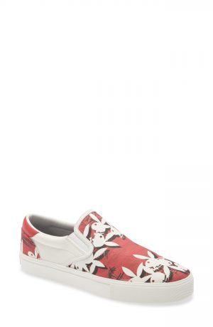 Men's Amiri Playboy Bunny Logo Slip-On Sneaker, Size 9US - Red