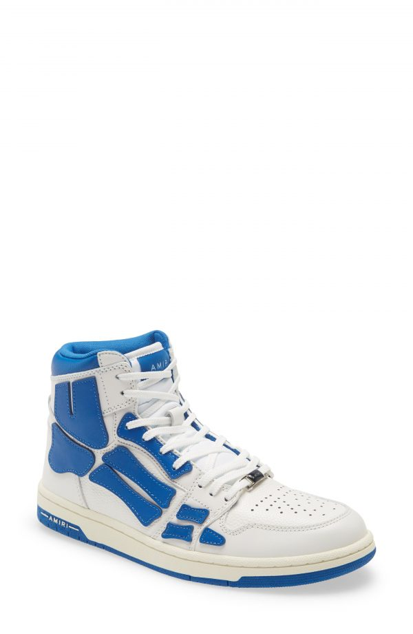 Men's Amiri Skel High Top Sneaker, Size 7US - White