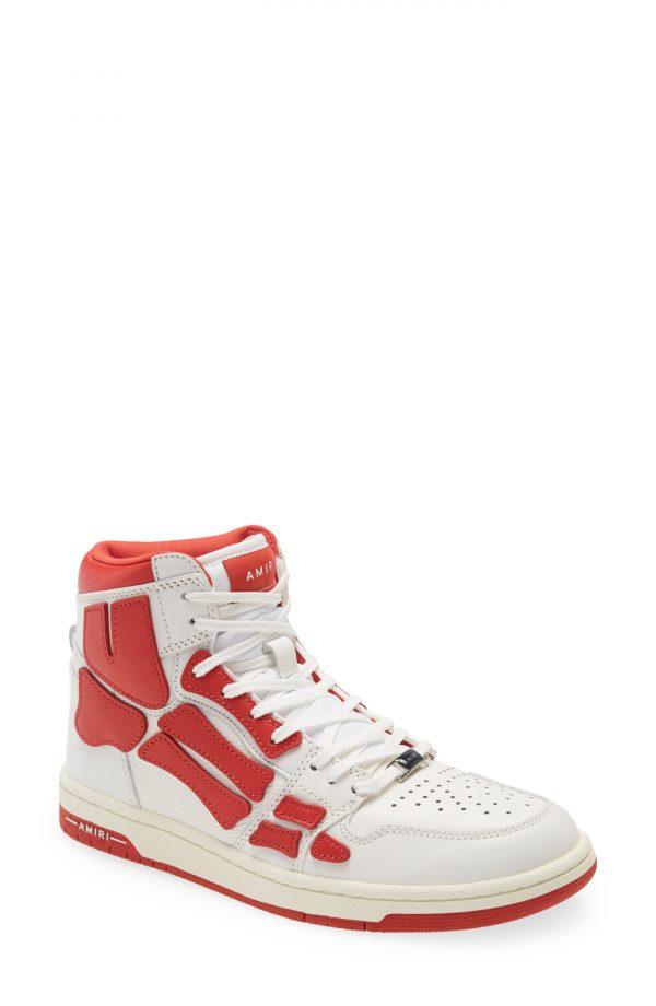 Men's Amiri Skel High Top Sneaker, Size 9US - White