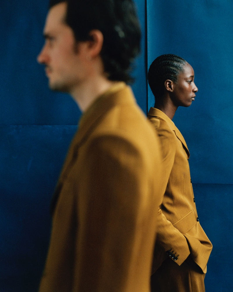 Paul Smith enlists Tristan Pigott and Shade Akinbobola as the stars of its fall-winter 2021 campaign.