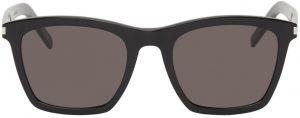 Saint Laurent Black SL 281 Slim Sunglasses