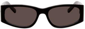 Saint Laurent Black SL 329 Rectangular Sunglasses