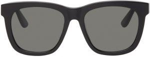 Saint Laurent Black SL M24/K Square Sunglasses
