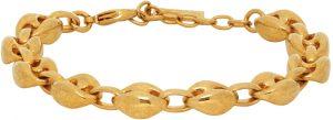 Saint Laurent Gold Mariner Link Bracelet