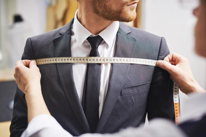 Suit Measuring Tape Shoulder