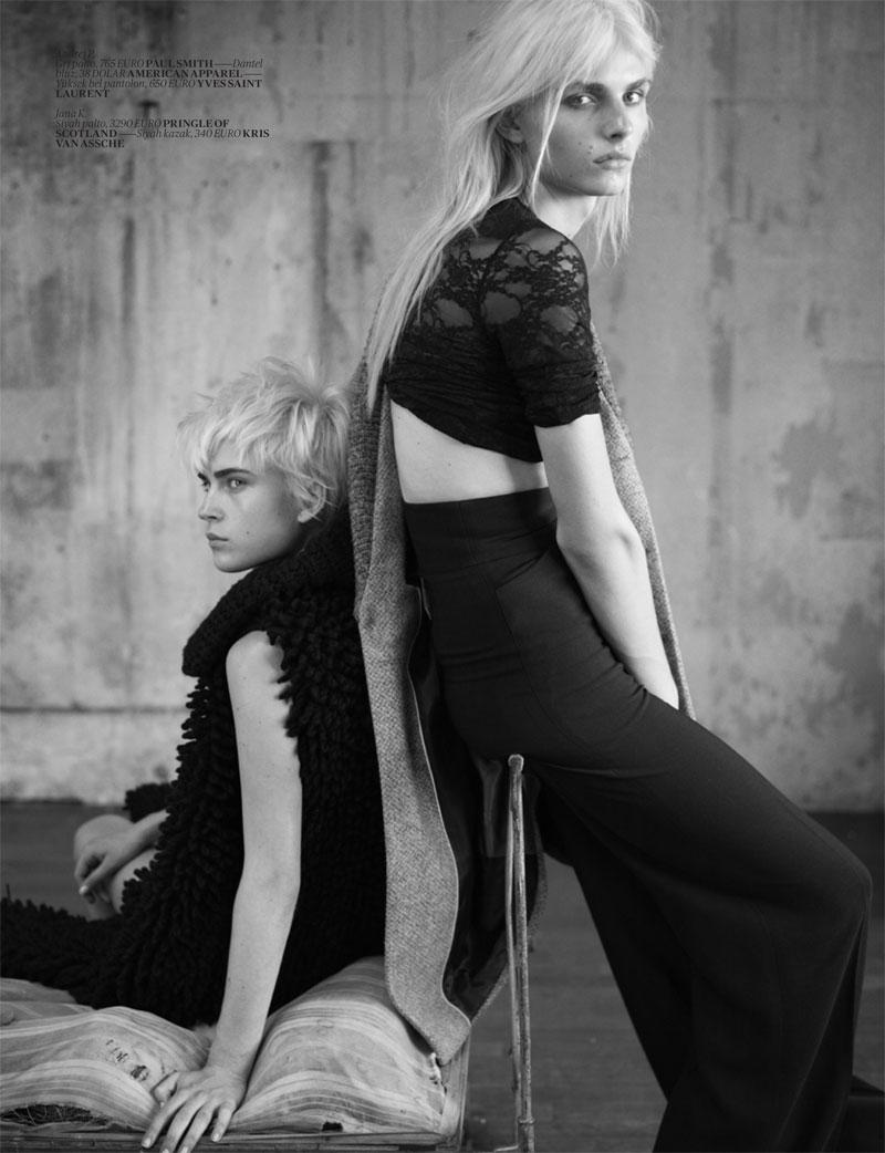 Andrej Pejic by Matthew Brookes for Vogue Turkey November 2010