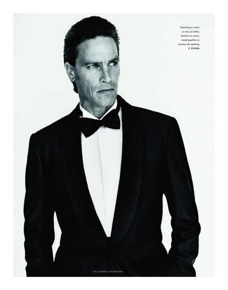 Andre Van Noord by Alasdair McLellan for Vogue Hommes International
