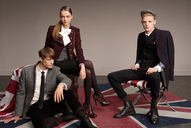 Lenz Von Johnston, Oleg Antosik & Fionn MacDiarmid for Hazzys Fall 2010 Campaign