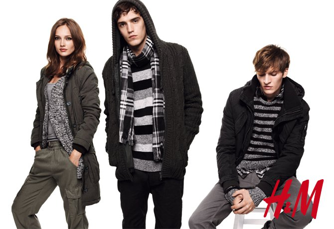 Josh Beech & Matvey Lykov for H&M Divided Get Warm Campaign