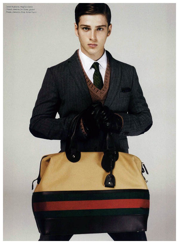 Lucas Mascarini by Giampaolo Sgura for GQ Style Italy