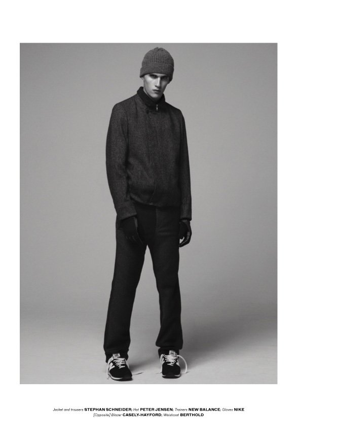 Luka Badnjar by Laurence Ellis for b Magazine