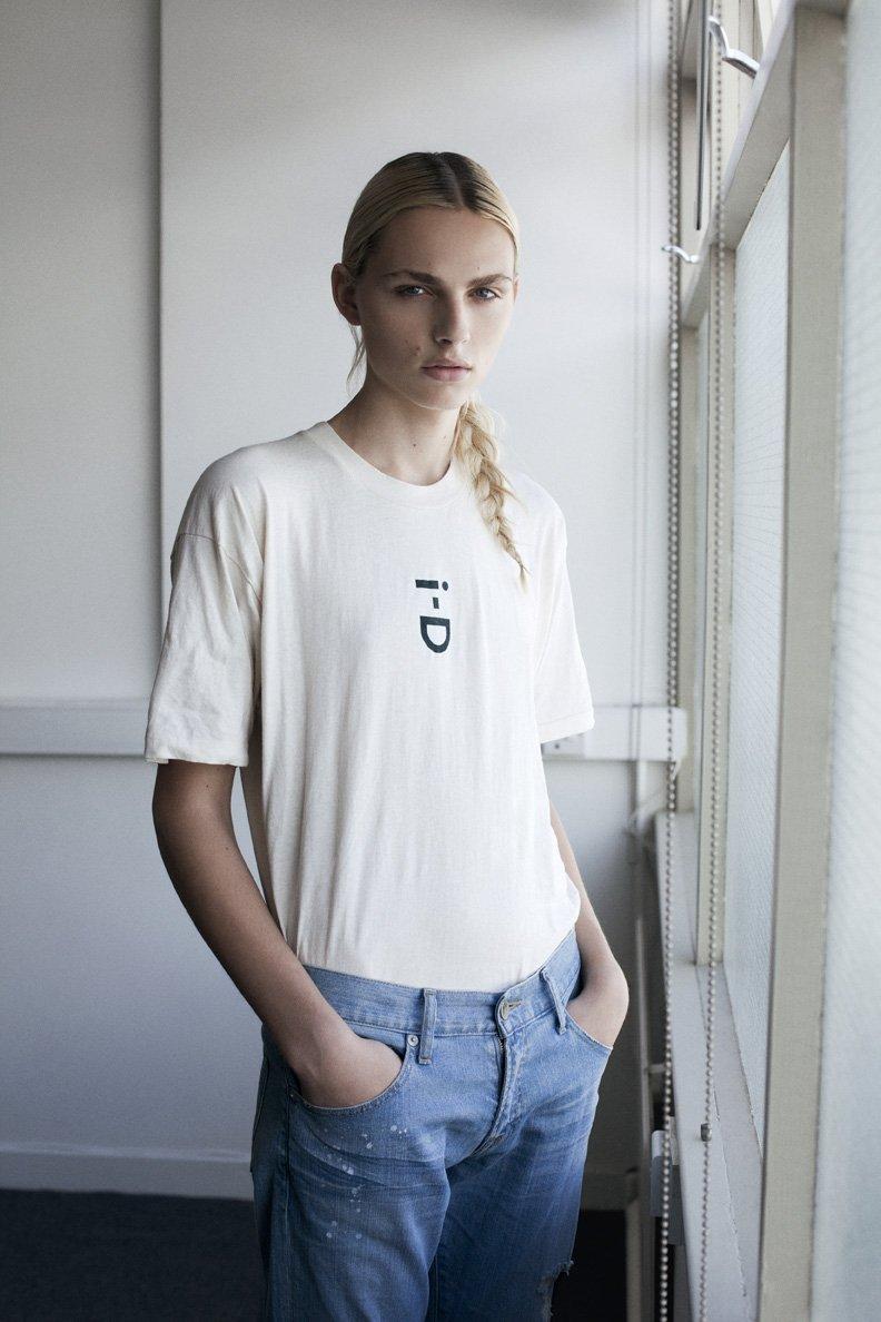 Andrej Pejic by Thomas Lohr for i-D