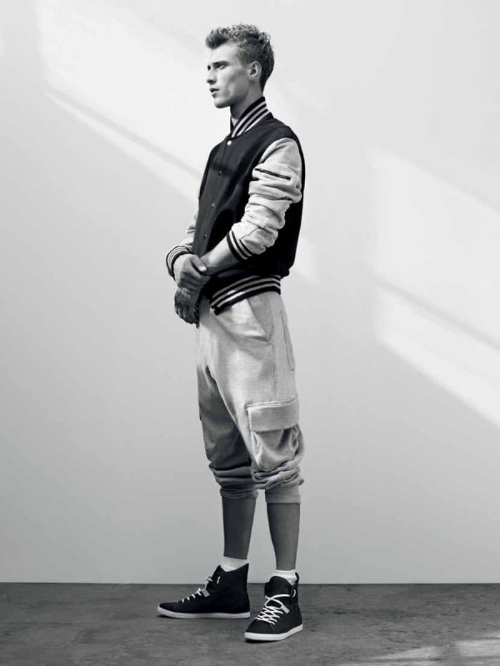 Clément Chabernaud by Karim Sadli for ADIDAS SLVR Spring 2011