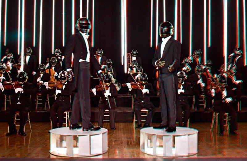 Daft Punk by Sharif Hamza for Dazed & Confused December 2010