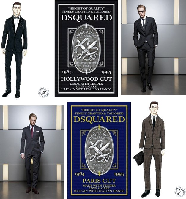 DSquared² Classic | Suiting Capsule Collection