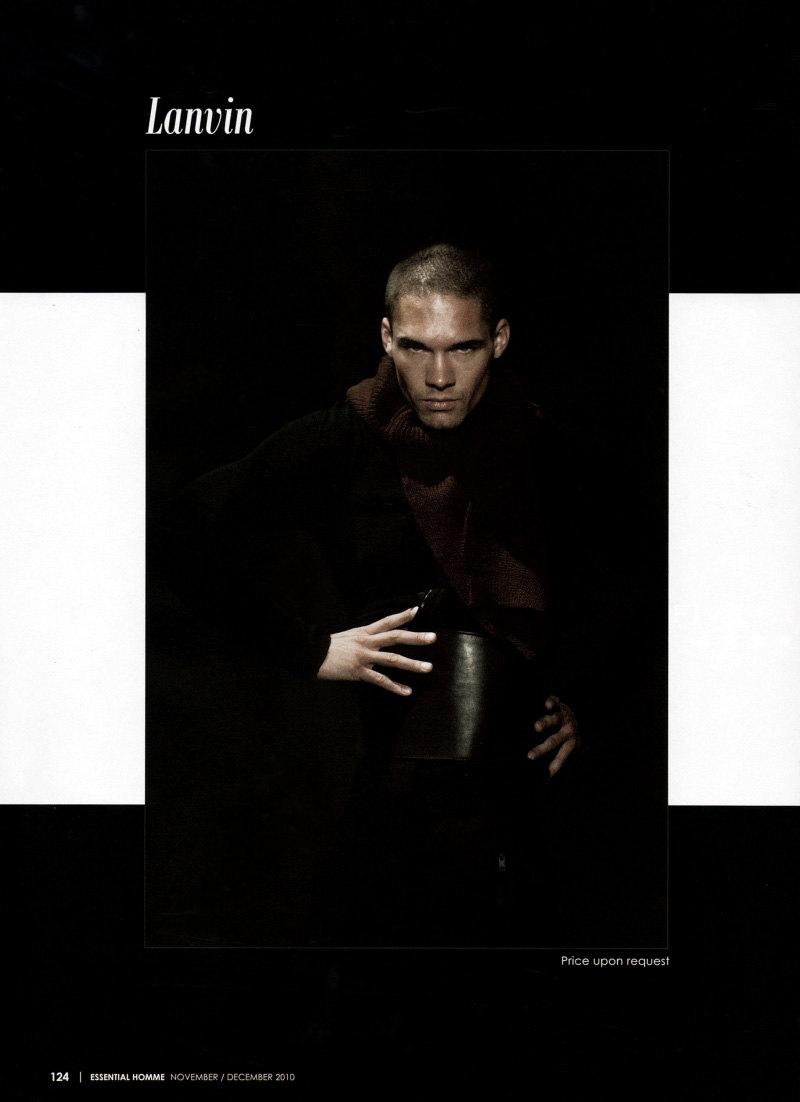 Essential Homme Designer Looks November / December 2010