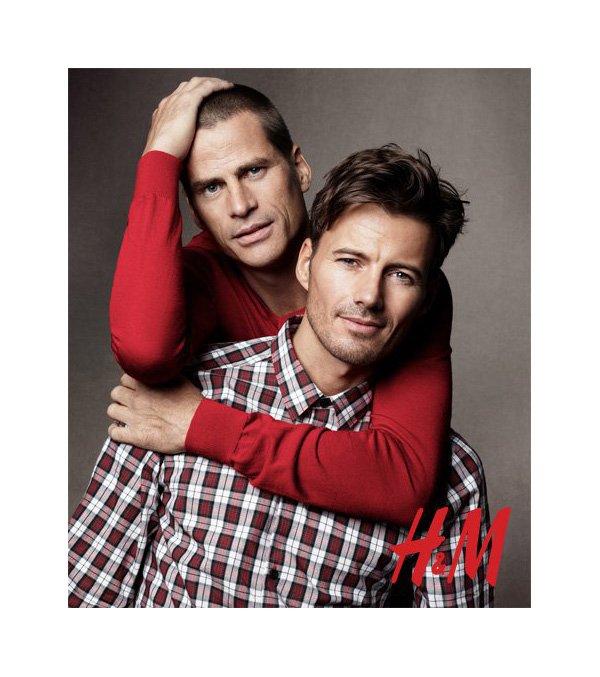Claude & Louis Simonon, Mark Vanderloo & Armando Cabral for H&M Holiday 2010 Campaign