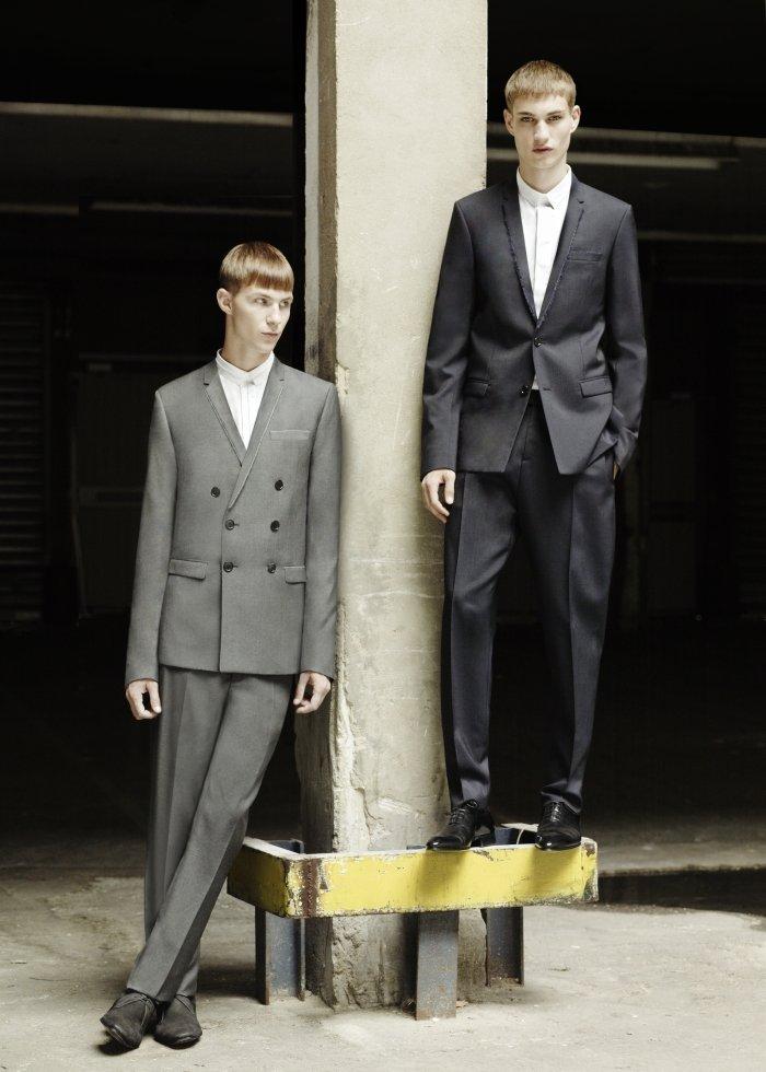 Les Essentiels Dior Homme--Raw Edges   Clinton Weber & Johannes Linder by Julia Champeau