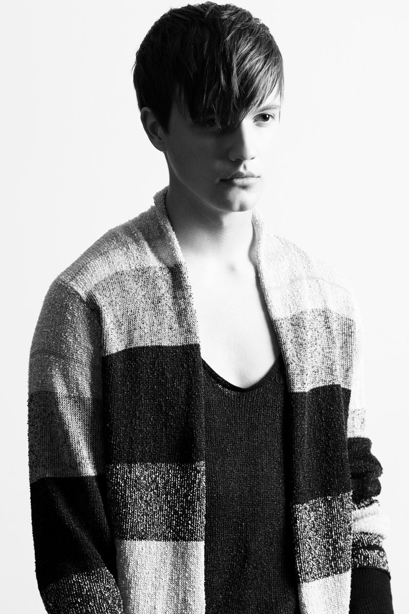 Asa Fox & Adam Keller by Shannon Sinclair in Lars Andersson for The Fashionisto