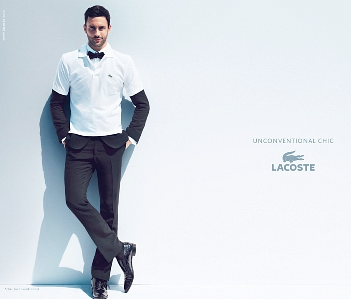 Noah Mills by Mert & Marcus for Lacoste Spring 2011 Campaign