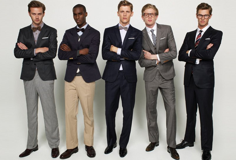 Jamie Strachan, Stan Jouk, Corey Baptiste, Marcus Hedbrandh & Lenz Von Johnston for TNGT Fall 2010 Campaign