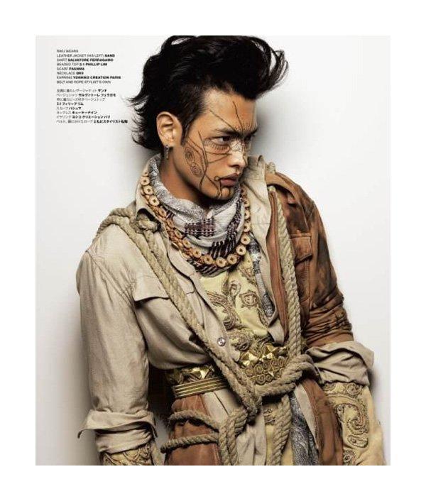 Tokyo Tribe by Koichiro Doi for VMAN