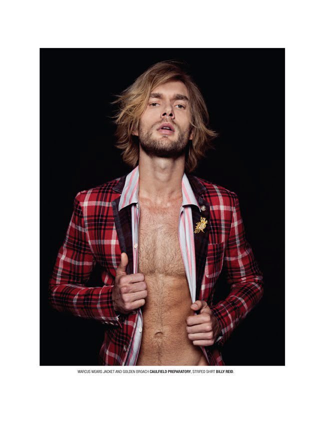 Ned Shatzer, Doug Porter, Marcus Andersson, Chris Mosier & David Axell by Idris + Tony for Geil
