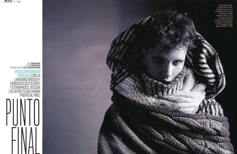 Joan Pedrola by Juanjo Molina for MAN January 2011