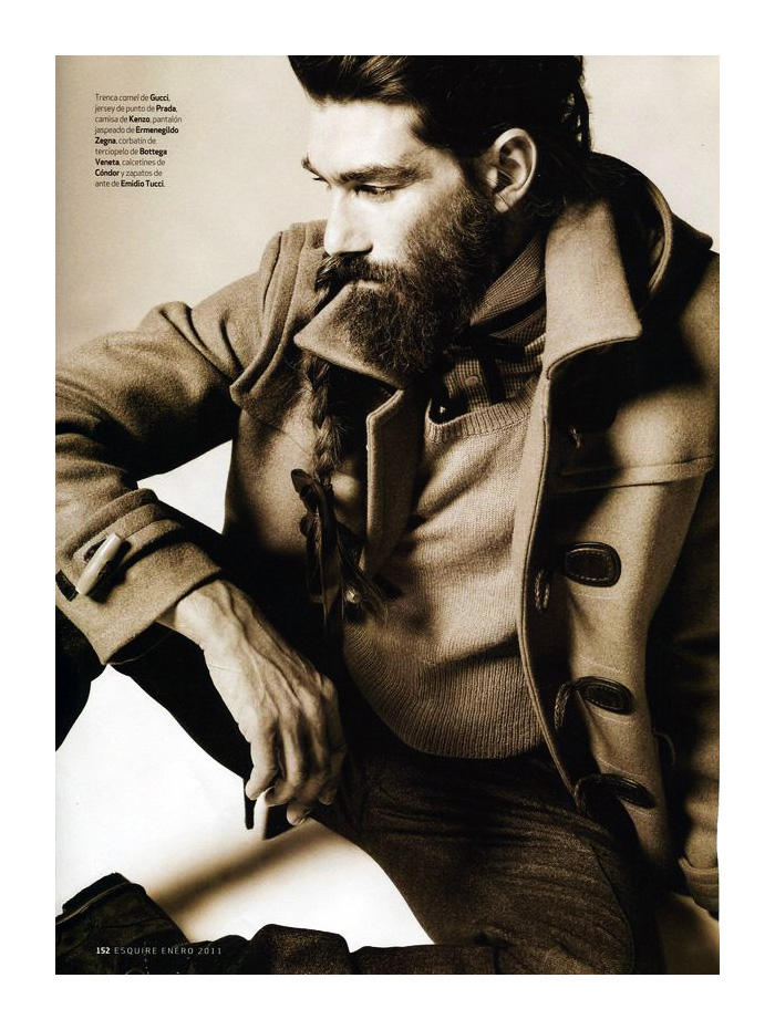 Patrick Petitjean by Papo for Esquire España